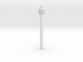 Imperial Code Cylinder Hollow in White Natural Versatile Plastic