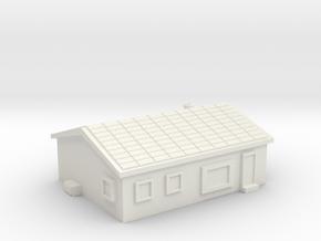 House 1 in White Natural Versatile Plastic