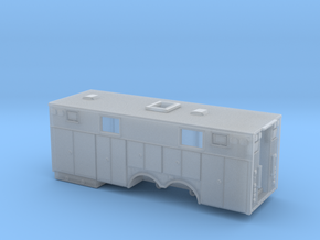 1/87 Heavy Rescue body non-rollup doors and window in Smooth Fine Detail Plastic
