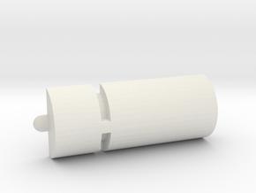 Aurora Sealab Water Heater in White Natural Versatile Plastic