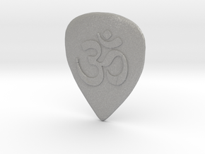 Ohm Guitar Pick in Aluminum