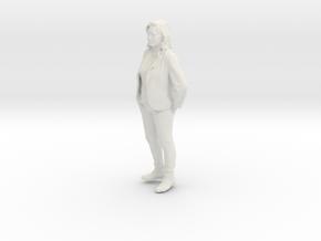 Printle C Femme 206 - 1/24 - wob in White Natural Versatile Plastic