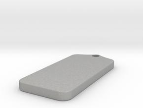 Customizible Pendent in Aluminum: Large