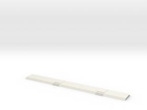 SBB NPZ Steuerwagen Dach  in White Natural Versatile Plastic