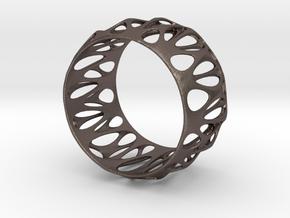 Parametric Cuff Bracelet in Stainless Steel
