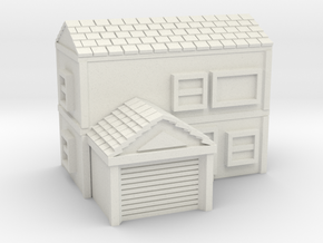 Town house in White Natural Versatile Plastic
