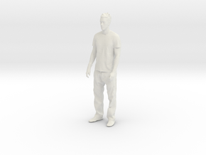 Printle C Homme 025 - 1/24 - wob in White Natural Versatile Plastic