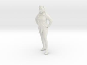 Printle C Femme 225 - 1/24 - wob in White Natural Versatile Plastic