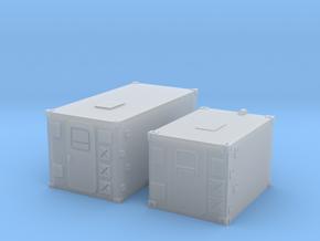 1:160 Kabine 1 und 2 Set in Smooth Fine Detail Plastic