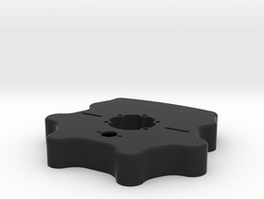 Button Plate Enclosure - Fits Mod27 in Black Strong & Flexible