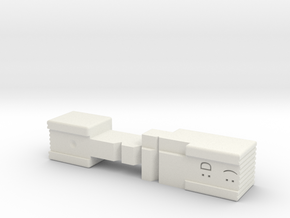 AUG Selector with additional Semi Only Position in White Natural Versatile Plastic
