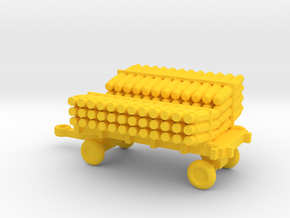 1/144 Scale  Scale SonoBouy Cart Loaded in Yellow Strong & Flexible Polished