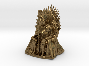 Trump as Game of Thrones Character With Sword in Polished Bronze: Medium