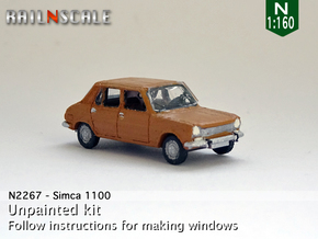 Simca 1100 (N 1:160) in Frosted Ultra Detail
