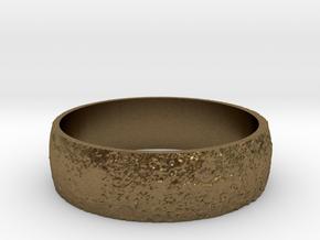 Moon Bracelet in Natural Bronze