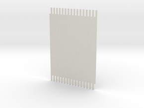 1-144 Marsden Matting Section 2 in White Natural Versatile Plastic
