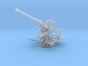 1/30 USN Single 40mm Bofors Elevated in Smooth Fine Detail Plastic
