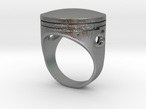Piston in Natural Silver