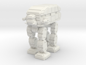 Mammoth Assault Walker  in White Natural Versatile Plastic