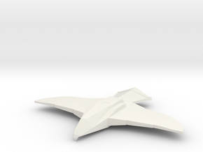 Hawk (Buck Rogers), 1/270 in White Natural Versatile Plastic