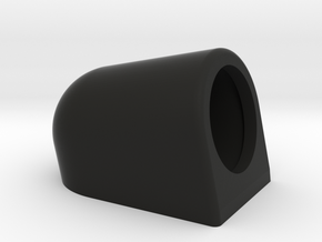 Shift Light Holder (Angled Up) in Black Natural Versatile Plastic