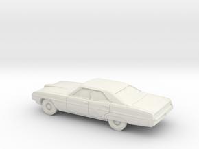 1/64 1968 Pontiac Bonneville Sedan in White Strong & Flexible