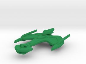 Klingon Negh'Var Class 1/15000 in Green Strong & Flexible Polished