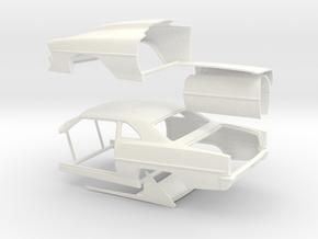 1/24 66 Nova Pro Mod Sep No Scoop in White Processed Versatile Plastic