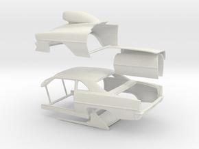 1/8 66 Nova Pro Mod Sep in White Natural Versatile Plastic