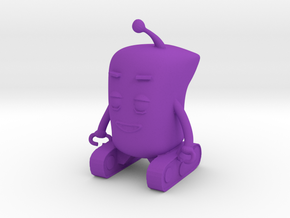 Baby Robot in Purple Processed Versatile Plastic