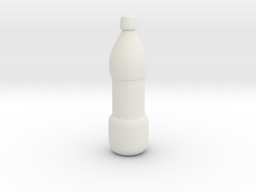 Printle Bottle 01 in White Strong & Flexible