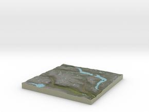 Terrafab generated model Mon Dec 05 2016 17:59:12  in Full Color Sandstone