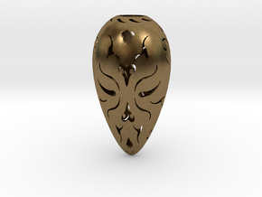 Holllow Seed 1 in Natural Bronze