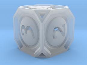 MetaGameGurus D6 14mm v01 in Smooth Fine Detail Plastic