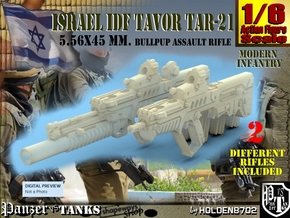 1-6 Tar21Tavor SET in White Natural Versatile Plastic