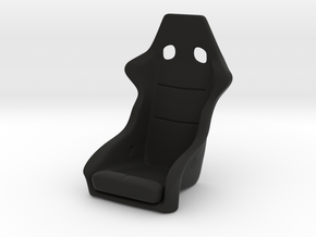 Race Seat - RType 1 - 1/10 in Black Natural Versatile Plastic