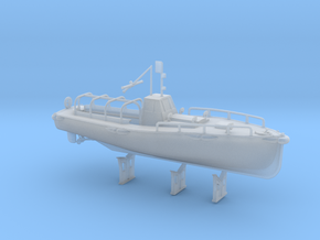 1/150 IJN Motor Boat Cutter 11m 60hp in Smooth Fine Detail Plastic