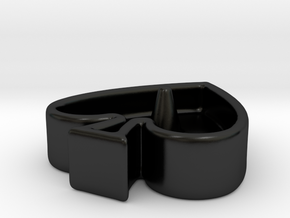 QoS Ring Dish in Matte Black Porcelain