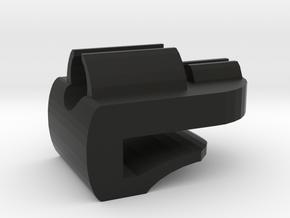 DPA Mini Lavalier Sound Hole Clip in Black Natural Versatile Plastic