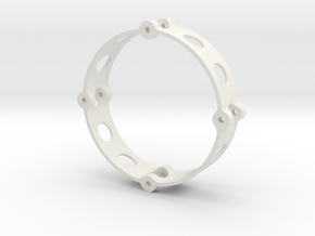 Inner Wheel Ring 1.9  in White Natural Versatile Plastic