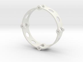 Inner Wheel Ring 1.9  in White Strong & Flexible