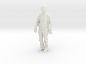 Printle C Homme 166-w/o base in White Strong & Flexible