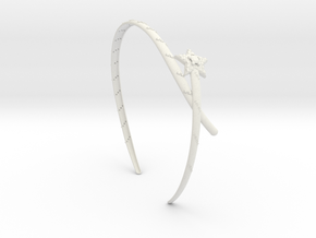 HEAD BAND in White Natural Versatile Plastic