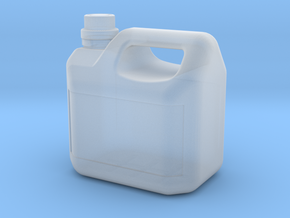 Petrol-Canister-5L - 1/10 in Smooth Fine Detail Plastic