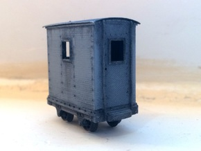 009 Dinorwic Brake Van (4mm Scale) in Smooth Fine Detail Plastic