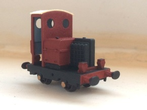 009 Corris No 5 'Alan Meaden' body in Smooth Fine Detail Plastic