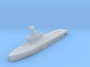HMS Hermes 1/1800 in Smooth Fine Detail Plastic