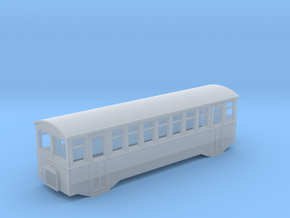 1/80 scale railbus  in Smooth Fine Detail Plastic
