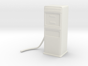 Printle Gas Pump in White Strong & Flexible