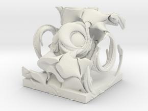 Demon, solid. in White Natural Versatile Plastic